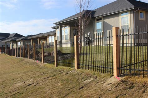 iron home wrought iron fence can enhance the look of your home