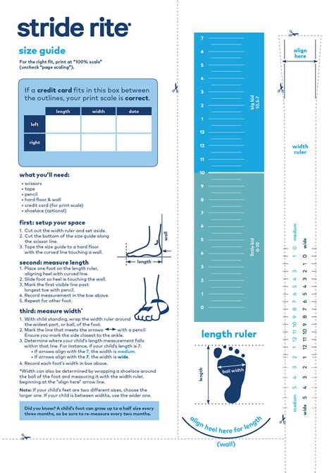 toddler shoe size chart printable stride rite stride rite shoe size chart kids shoe sizing brands that