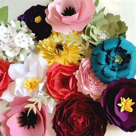 How To Make Paper Flower Wall Decorations - paper flower wall decor large paper flower backdrop