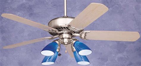 hton bay cobalt blue ceiling fan emerson apollo ceiling fan cf3900bs in brushed steel