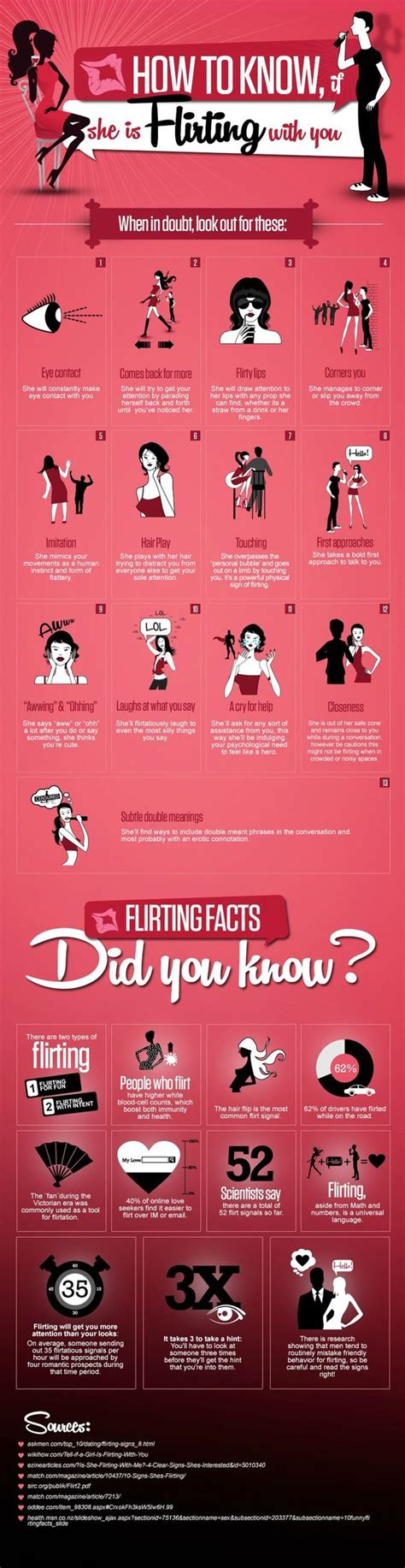 Language Signs Of Flirting by 13 Signs If She Is Flirting With You I Can Always Make