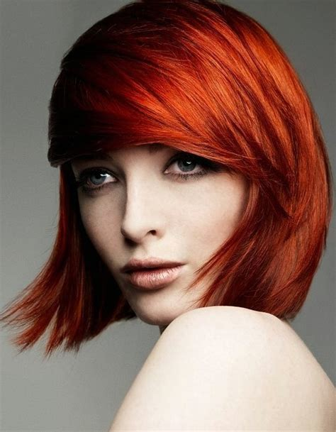 pictures of copper colored hair vibrant copper hair color redheads pinterest