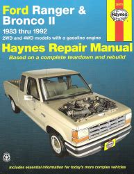online car repair manuals free 1995 ford ranger electronic valve timing 1983 1992 ford ranger and bronco ii haynes repair manual