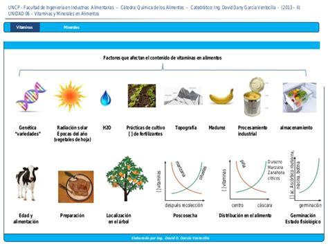 minerales en alimentos 6 vitaminas y minerales en alimentos