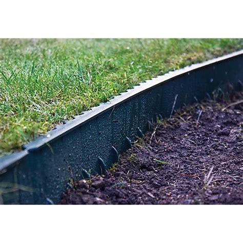 Landscape Edging Plastic Apollo Gardening Plastic Lawn Edging Green 1000 X 130cmm