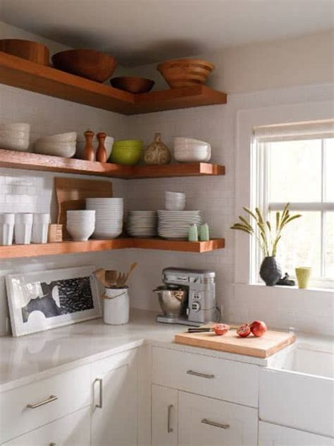 open shelves cabinet my home 10 open shelving ideas for the kitchen