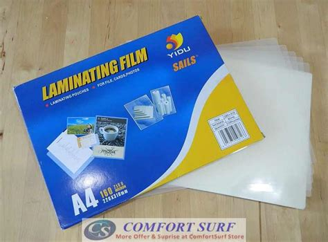laminating film online malaysia laminating laminated pouches film a4 size 2x80 mic 160