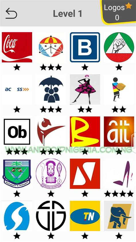 android quiz layout naija logo quiz learn about nigerian brands by playing