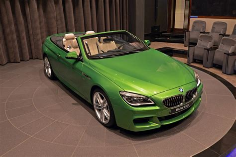 java green bmw bmw 6 series convertible in java green