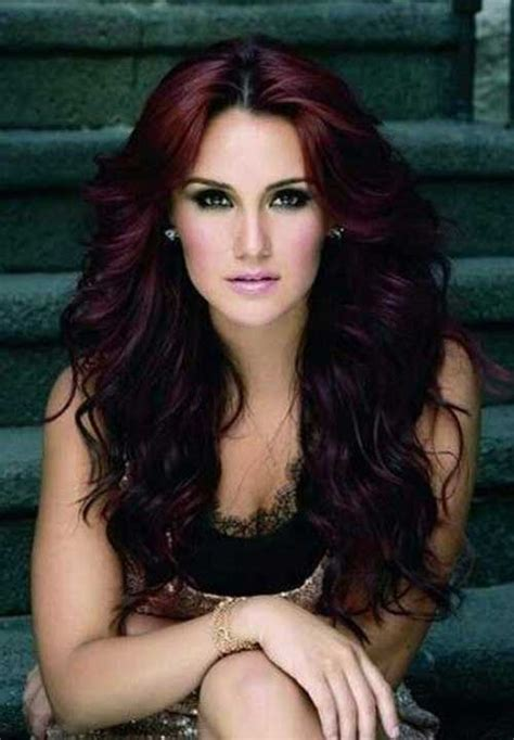 shades of auburn for the mature woman 20 dark auburn hair color long hairstyles 2016 2017