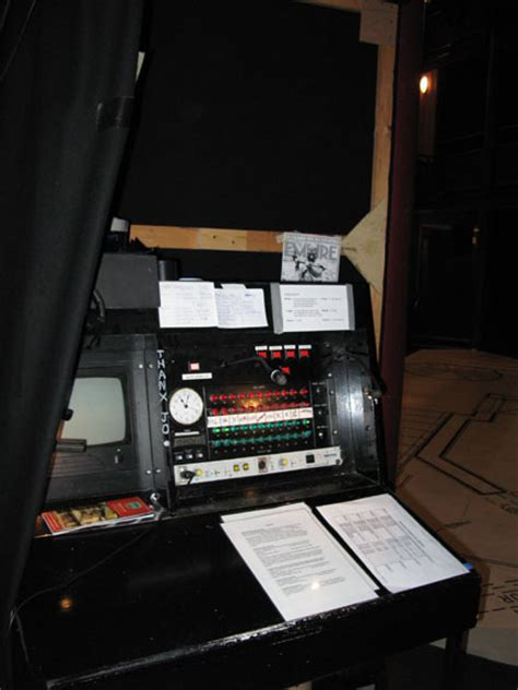 Stage Managers Desk by Hiley Website