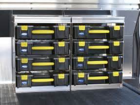 cargo trailer cabinets to maximize your storage space