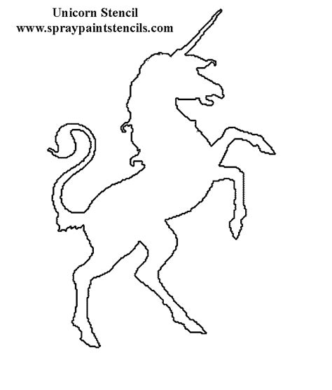 free printable unicorn stencils star stencil stencils and stars on pinterest