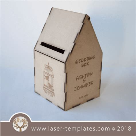 Wedding Envelope Box With Lock by Laser Cut Invite Templates Collection Of Invites
