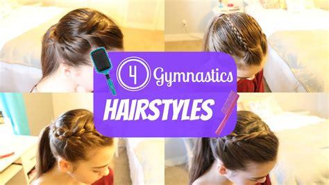 gymnastics hairstyles youtube