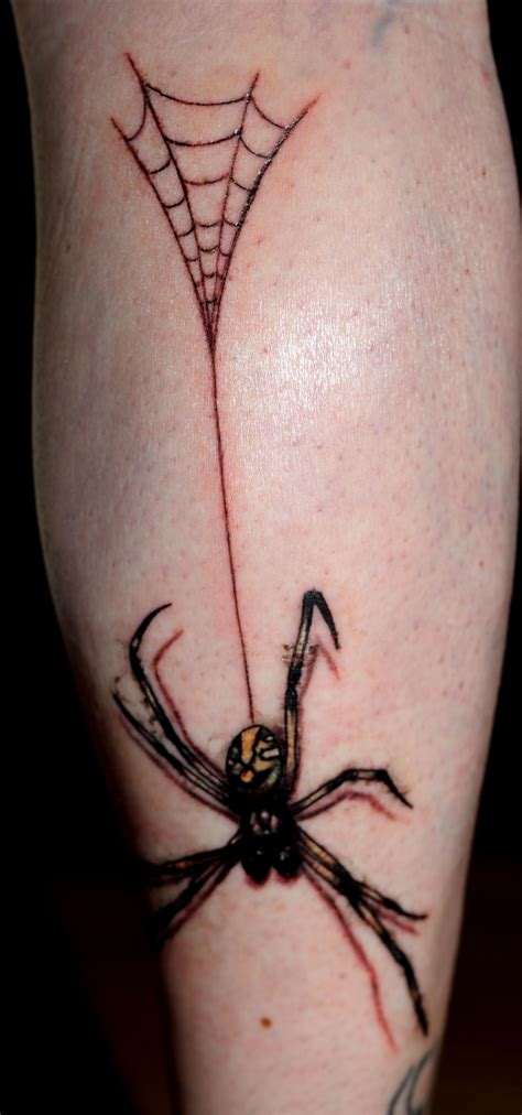 awesome girl tattoo designs simple spider