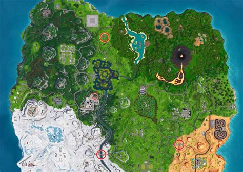 find fortnite puzzles  treasure map sign posts