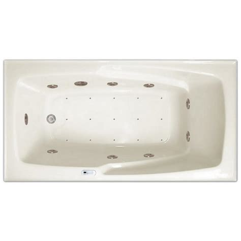 air bathtubs 5 ft right drain drop in rectangular whirlpool and air