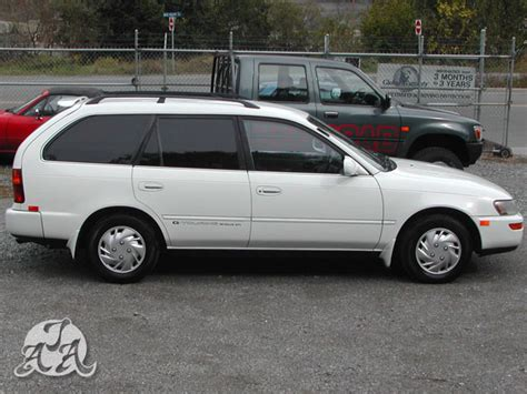 1992 toyota corolla wagon g touring only 107k kms