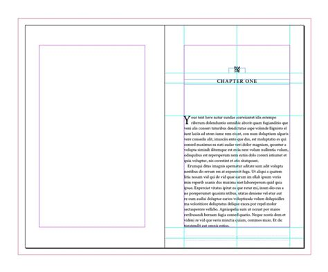 adobe indesign book templates free book template for indesign free