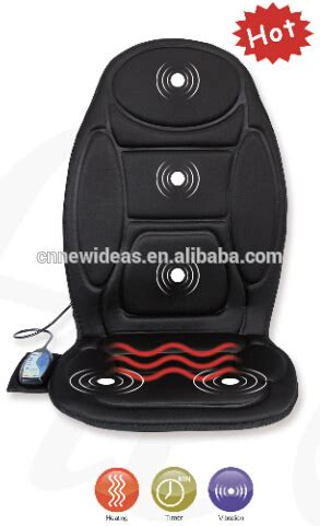 car seat warmer and massager vibration with seat warmer back and seat massager