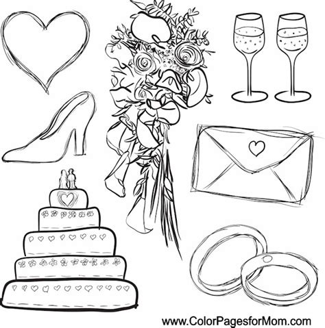 Coloring Page 24 by Wedding Coloring Page 24