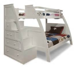 White Bunk Bed With Stairs Bedroom Unique White Bunk Beds Design With Stairs And Storage Bunk Beds With Stairs Designs