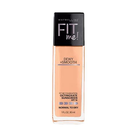Foundation Maybelline Untuk Kulit Kering jual maybelline fit me dewy smooth foundation 115