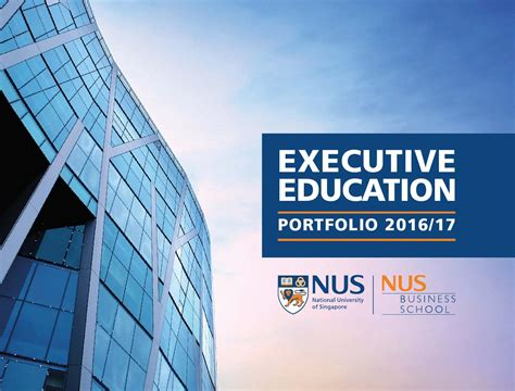 Nus Mba Tuition by Programmes Nus Executive Education Autos Post