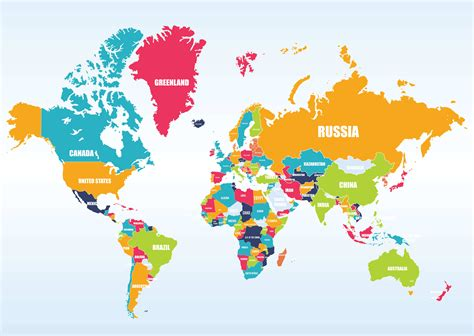 In A World world maps