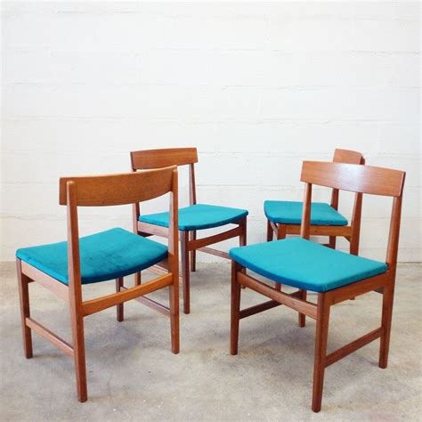 teak chairs for sale mid century teak chairs set of 4 for sale at pamono
