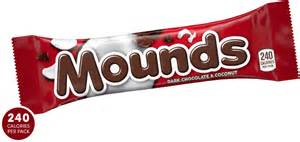 Almond joy amp mounds mounds candy bar