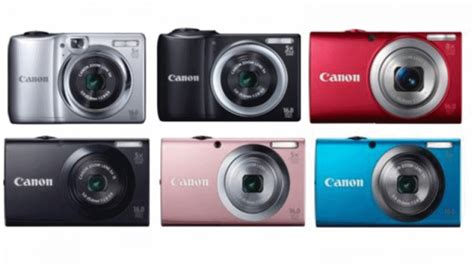 canon powershot models canon powershot new a series models announced expert