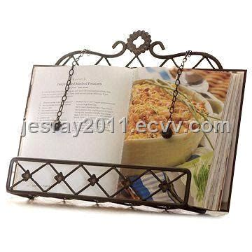 Wholesale Home Decor Suppliers Australia iron book stand metal craft suitable for kitchen photo