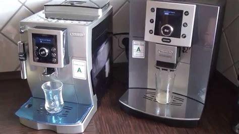 Delonghi Ecam 23420 Sb Test 2521 by Delonghi Ecam 23 426 Sb Und Esam5500 Kaffee Vollautomaten