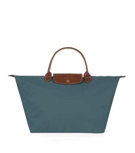 Le Pliage Green Msh longch le pliage medium handbag in green mint lyst