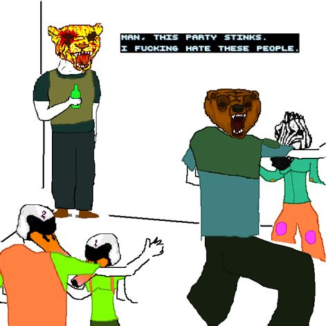 Hotline Miami Meme - this party stinks hotline miami know your meme