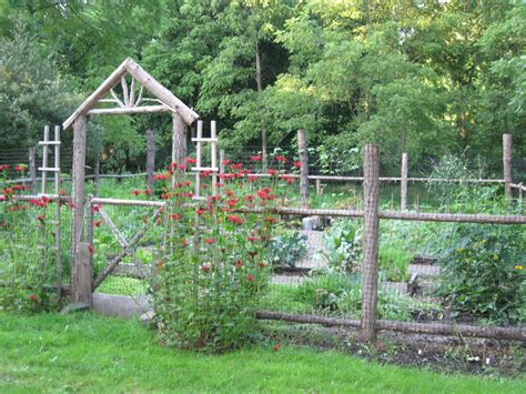 two men and a little farm inspiration thursday rustic garden fence