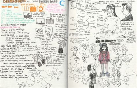 sketchbook note 8 artist of the day citlalli