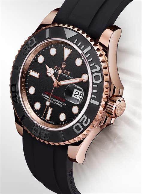 Jam Replika Rolex Daydate 2 Phantom Steel Black Swiss Eta 11 rolex yacht master 116655 in everose gold with black ceramic bezel for 2015 ablogtowatch