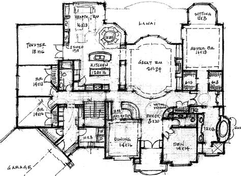 Rambler House Plans With Bonus Room Rambler House Plans Plans Bonus Room Rambler Floor Plan Home46695 670x400 Rambler House Plans