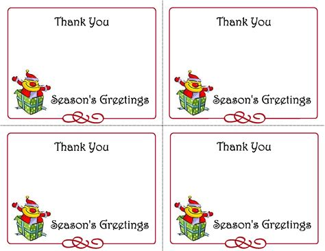 thank you card tag template 8 best images of printable gift cards free