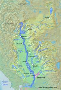 map of rivers in california rivers for change sacramento river
