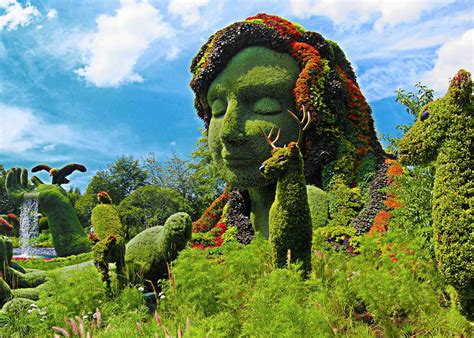 check out these living sculptures at montreal s botanical