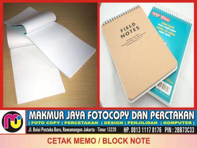 Faktur By Jaya Makmur Si26 jasa cetak memo block note murah di rawamangun jakarta
