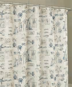 lorraine home fashions shower curtains by the sea shower curtain by lorraine
