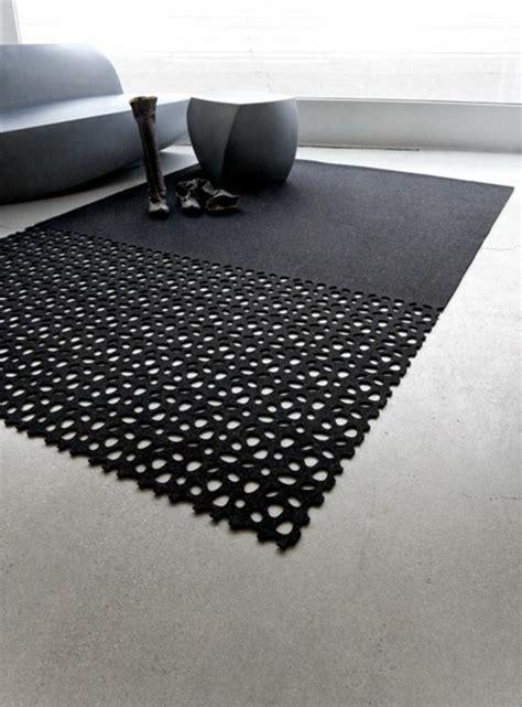 teppiche grau schwarz 30 designer teppiche moderne traumteppiche