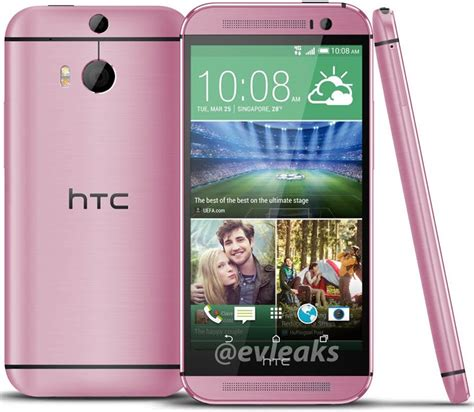 htc one m8 launcher apk htc one m8 in pink looks and it s coming soon