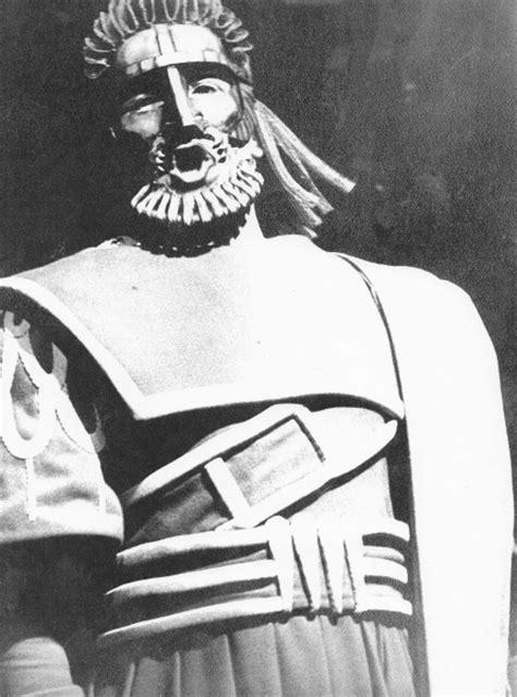 Oedipus Rex 1972   Tour   Opera Scotland