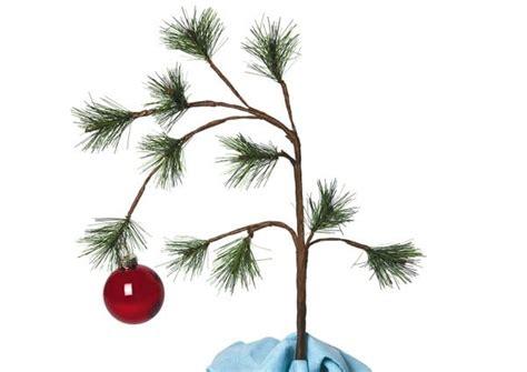 real charlie brown christmas tree simplifying